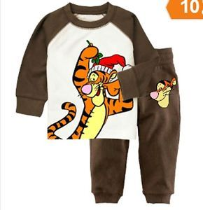 New Baby Toddler Clothing Kids Boys' Sleepwear Pajamas Set 2 7T