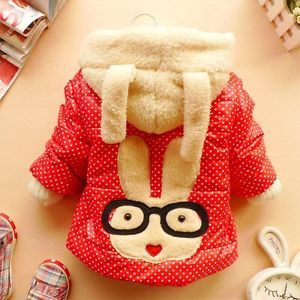 Christmas Baby Coat Girl Clothes Winter Coat Kids Red Jacket Babydress 12M 5Y