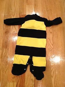 OshKosh Baby Bumble Bee Halloween Costume Boy Girl 12 Months