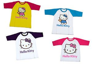 "New Baby Toddler Kids Girls T Shirt Clothes Pink ""Kitty"" Summer Softball Design"