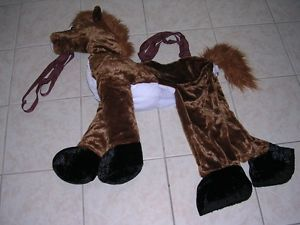 Step in Ride Plush Horse Pony Toddler Boy Girl Halloween Costume Sz 2T 3T