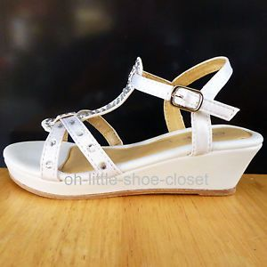 Toddler Girl White Sandals Size 9