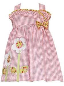 RARE Editions Flower Dress Size 9 Months Baby Girls Boutique Clothing