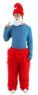 Papa Smurf's Red Hat Halloween Costume Accessory