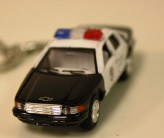 1 86 Cheverolet Chevy Caprice Die Cast Model Police Car