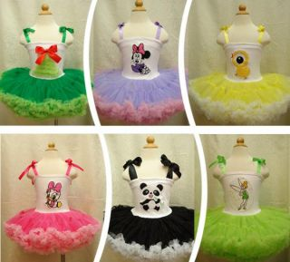 Christmas Girl Princess Party Pettiskrit Sz 2 10 Y Baby Dance Tutu Dress Skirt