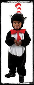 Deluxe Infant 12 18 mos Dr Seuss Cat in The Hat Halloween Complete Costume Suit