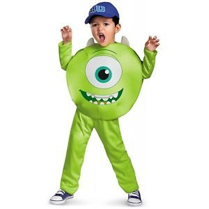 Mike Toddler Classic Costume Kids Monsters Inc Halloween Fancy Dress