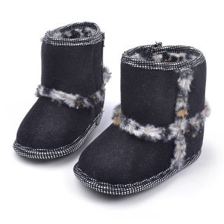 Fashion Baby Boots Snow Shoes Newborn Infant Baby Boy Girl Kid Snowboots Shoes