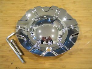 Akuza 504 Spur Chrome Wheel Rim Center Cap Centercap EMR0504 Truck Cap LG0603 42