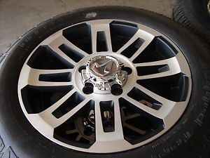 "4 20"" Toyota Tundra Sequoia 16 Spoke Wheels Rims BFGoodrich Tires"