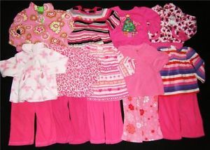 Lot Toddler Baby Girl Fall Winter Clothes Size 24 Months 2T 3T 3 Years Old