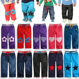 "Vaenait Baby Infant Toddler Clothes Boy Girl Trousers Pants Blue Jean""Pants"""