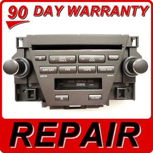 Repair Service for Lexus ES350 ES 350 Radio Stereo 6 Disc Changer CD Player