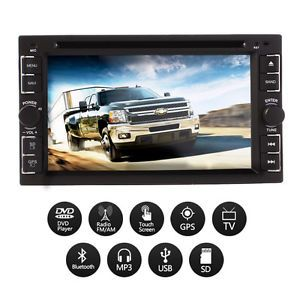 3D Pip Double DIN in Dash Car DVD Player GPS Navigation