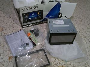 "Kenwood DDX770 Double DIN in Dash Car DVD CD Receiver Bluetooth 7"" Monitor"