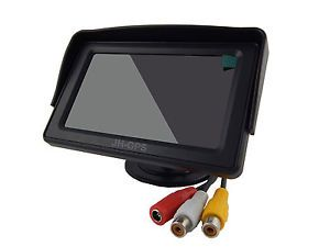 By DHL UPS EMS 4 3 TFT LCD Car Monitor Screen Backup Reverse Camera Rear View