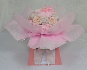 Baby Bouquet 20 Items of Baby Clothes Baby Shower Gift Nappy Cake Baby Girl
