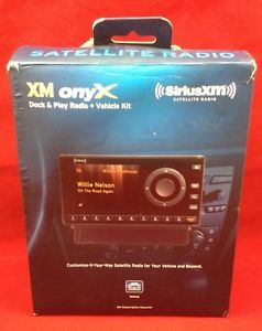 Sirius XM Satellite Radio Dock Play Radio Vehicle Kit Model XDNX1V1 778890206849
