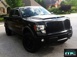 2009 Up Ford F 150 Vic Style Functional Fiberglass RAM Air Vented Hood