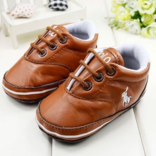 Brand Baby Boy Soft Sole Crib Shoes Fist Worker Toddler Sneaker PO05