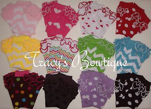 1 Pair Baby Toddler Girls Stretch Cotton Ruffle Leg Arm Warmers Photo Props