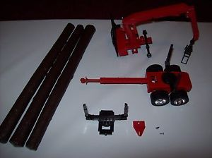 1 32 Scale Toy Log Truck Parts Off of A New Ray Mack