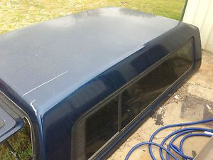 Chevrolet GMC Long Bed 8' A R E Truck Cap Pickup camper Shell w Walk Door