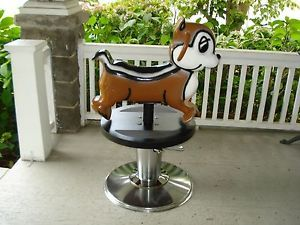 Salon Barber Chair Children's Chipmunk Playworld Systems