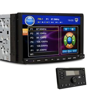 "Versio 7""in Dash Car DVD Stereo Touch Screen Radio Deck"