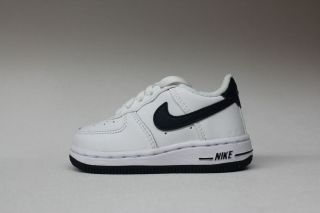 Nike Air Force 1 White Navy Blue Authentic Toddler Sneakers Baby Shoes