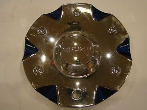 Akuza Center Cap EMR0760 Car Cap S708 41 Used Chrome Wheel Rim Hub Cover