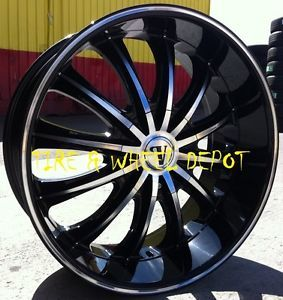 24 inch V15 Rims Wheels Tires Le Sabre Park Ave Cadillac cts STS DTS Lexus