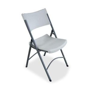 Lorell Heavy Duty Tubular Folding Chair LLR62515
