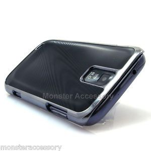 Gun Metal Aluminum Hard Case Cover Samsung Galaxy S2 T989 Hercules T Mobile