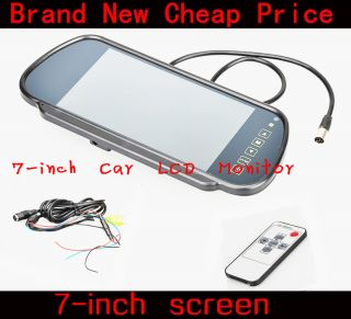 New Sale 7 inch Car TFT LCD Monitor Car Back View Monitor Inspection Camera
