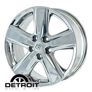 Toyota Camry PVD Bright Chrome Wheels Factory Rim 69566 Exchange 2010 2011