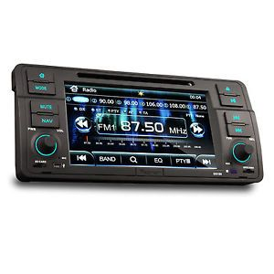 BMW 3 Series E46 Car DVD Player GPS Navigation in Dash Stereo Radio System RDS