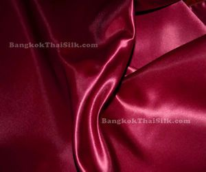 "Red Wine 45"" Satin Fabric Dress Bridesmaid Chair Cover"