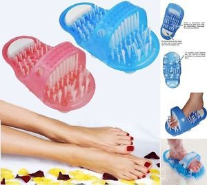 Shower Foot Scrubber Feet Brush Massager Clean Bathroom Easy Health Shower Brush