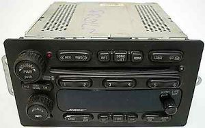 GMC Envoy 05 06 Model Factory Car Stereo Bose Premium 6CD Disc Changer Radio