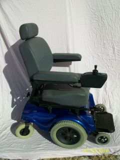 Jazzy Pride Heavy Duty Power Mobility Chair Wheelchair