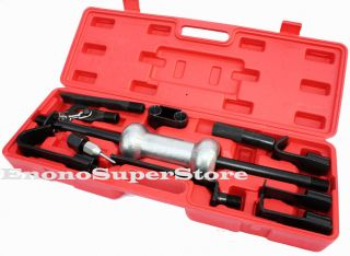 13pc Heavy Duty Dent Puller w 10lbs Slide Hammer Auto Body Truck Repair Tool Kit