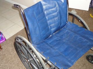 "Bariatric Wheelchair Invacare Tracer IV 22"" Wide Heavy Duty"