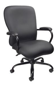 Big Man Office Chair Heavy Duty Capacity 350lbs B990 CP