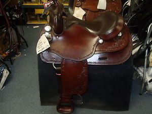 "Big Horn Haflinger 16"" Seat Western Pleasure Trail Saddle"