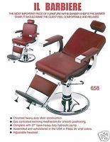 Barber Chair Salon All Purpose Chair American Made