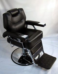 Lanzaro New Barber Chair Heavy Duty Hydraulic Pump Fast Shipping 1YR Warr