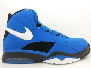 472499 401 Mens Nike Air Maestro Flight Soaring Blue Black OG Basketball Shoes