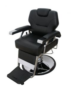 Black Bestsalon Premium Hydraulic Recline Barber Chair Styling Salon Beauty 37